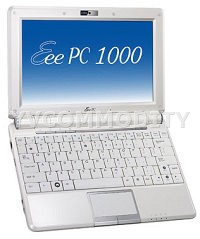 Нетбук ASUS Eee PC 1000HD White