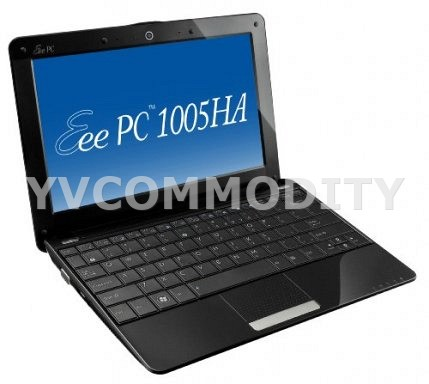 ASUS Eee PC 1005HA Seashell Black