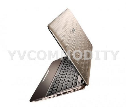 ASUS Eee PC 1015PW gold texture