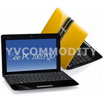 Нетбук ASUS Eee PC 1001PQD Yellow