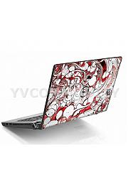 Dell Studio 1555 Red Swirl