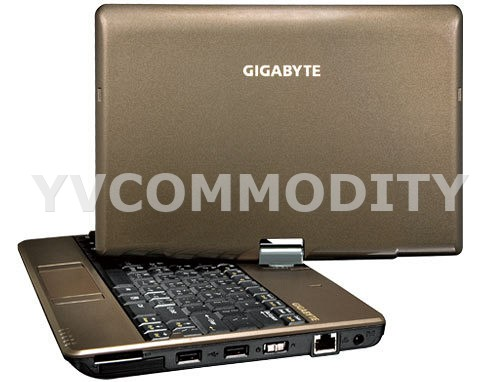 GIGABYTE Touch Note T1028X Bronze