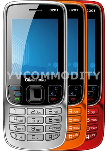 Changchong Rainbow C201 Black Dual SIM