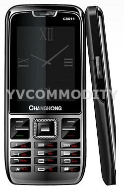 Changchong Rainbow C8011 Black  Dual SIM