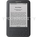 Фото: Электронная книга Amazon Kindle 3 Wi-Fi+3G Graphite with reclama