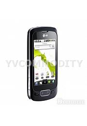 LG Р500 Android 2.2  Black